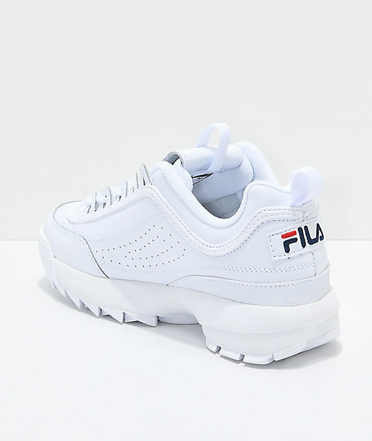 FILA Disruptor II White Shoes