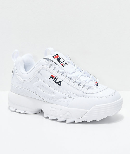 Fila Disruptor Ii White Shoes