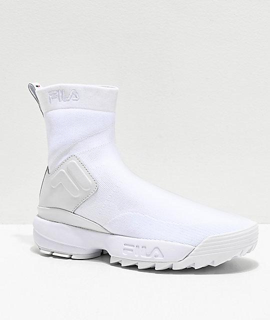 fila shoes sock
