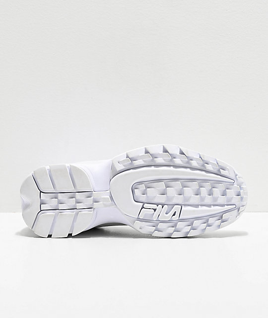 FILA Disruptor Stretch zapatos blancos