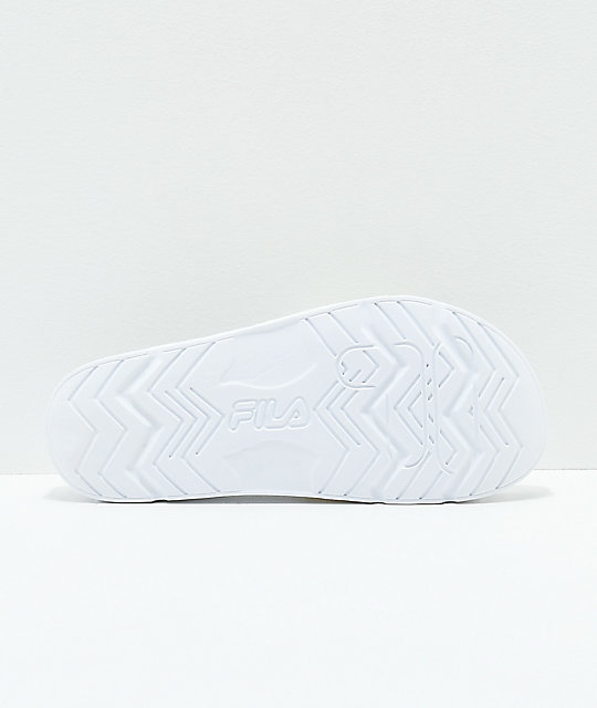 FILA Drifter Molded White Slide Sandals