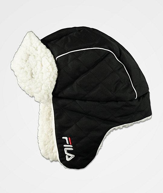 2a41d118d FILA Heritage Black Trapper Hat