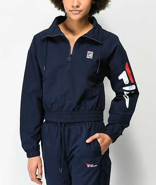 d4200f5c150f FILA Kayla Retro Track Jacket | Zumiez