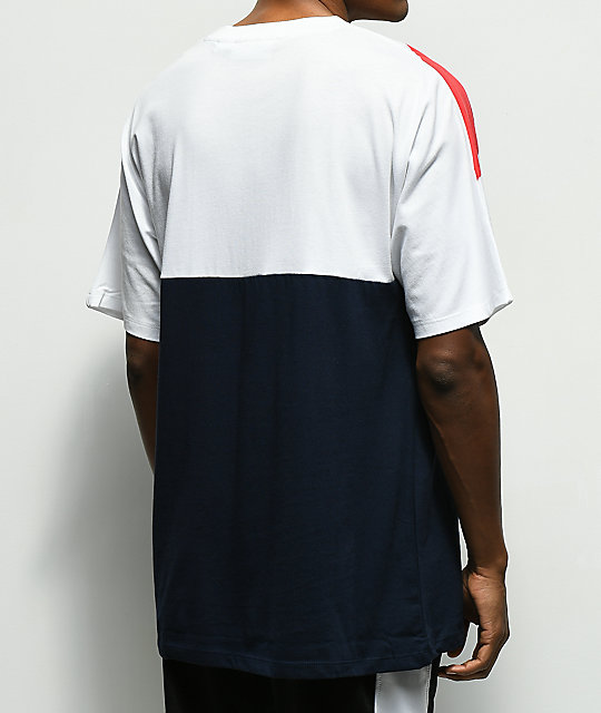 FILA Lee Navy T-Shirt