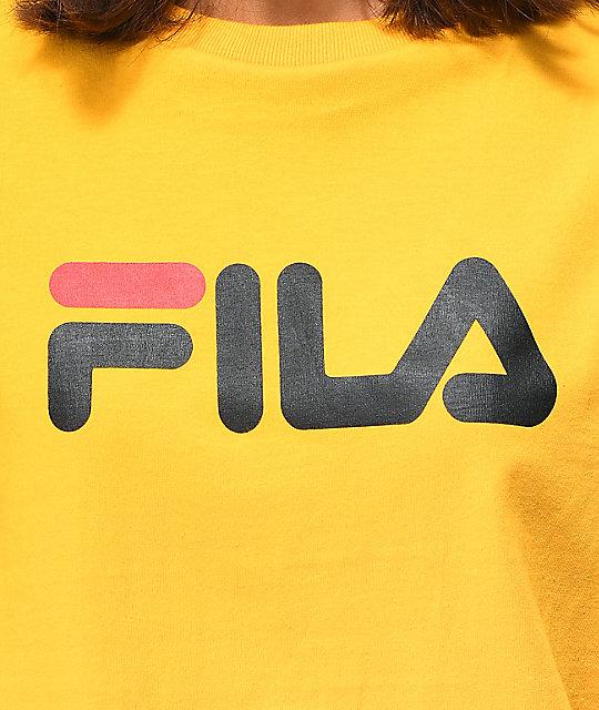 596ce48bc0c362 ... FILA Miss Eagle Gold T-Shirt ...