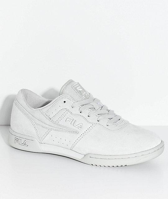 Zapatos Premium Grises Fitness Zumiez Original Fila qEA4wt6W