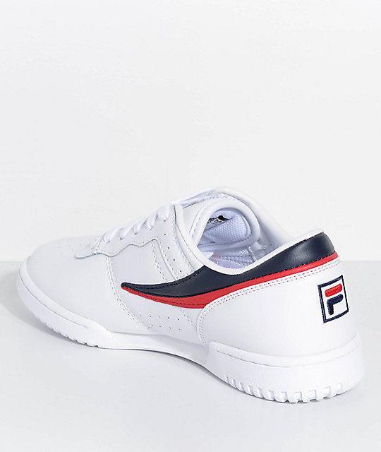 hot sale online adf28 b45d0 FILA Original Fitness White Shoes  FILA Original Fitness White Shoes ...