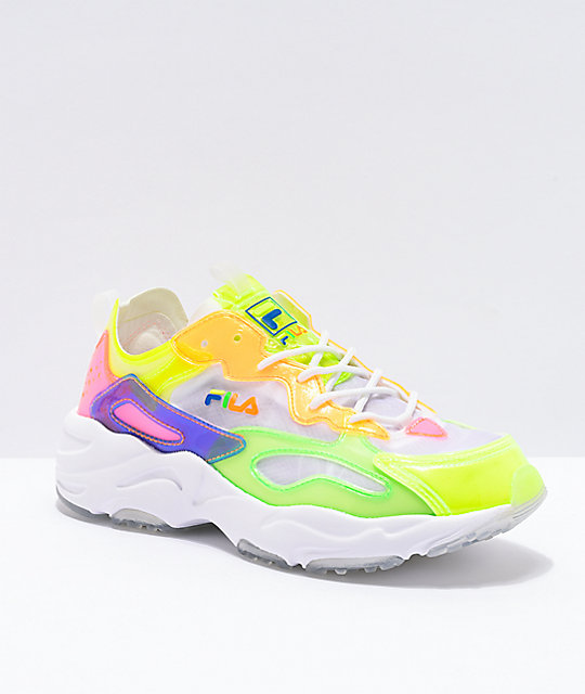 Fila Raytracer Shoes Yellow