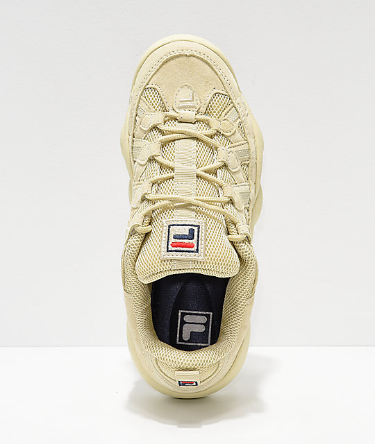 13b7dc7fd375 ... FILA Spaghetti Low Tan Shoes ...