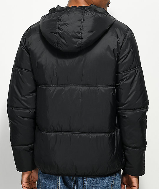 FILA Vincenzi Black Quilted Jacket
