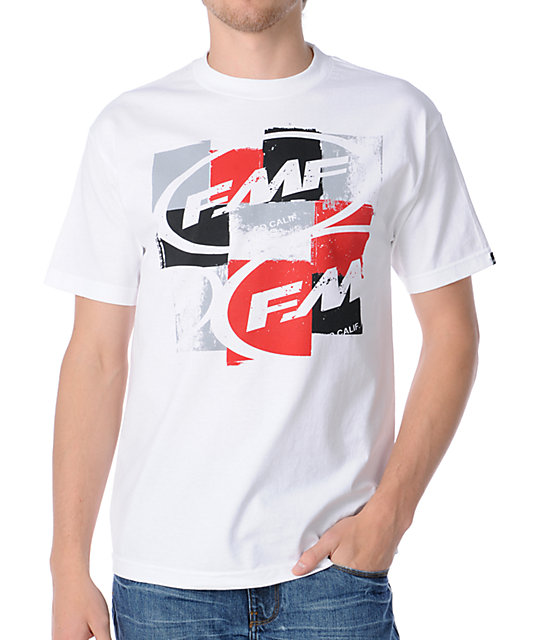 FMF Boxxer Black T-Shirt