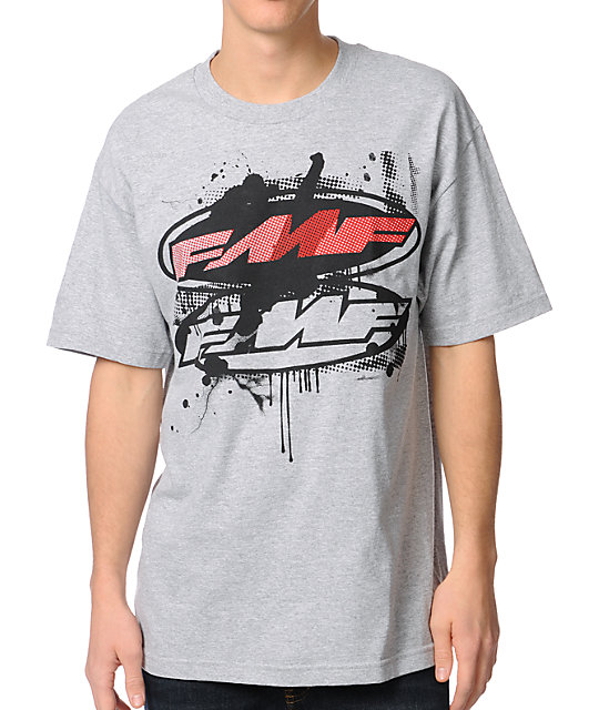 FMF Chaos Grey T-Shirt