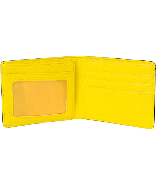 FMF Interior Black & Yellow Bifold Wallet