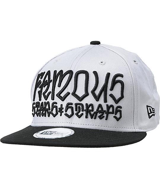 7d0f0965e89 FMS x Rebel 8 Taking Names Grey   Black New Era Snapback Hat
