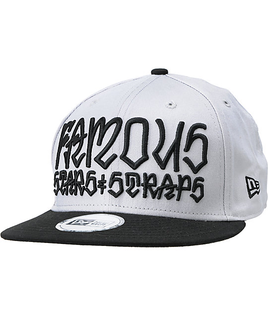 4b0e0c4d12b ... new arrivals fms x rebel 8 taking names grey black new era snapback hat  f4346 ce60d