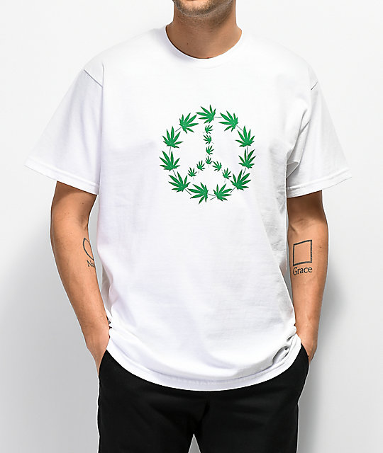 Freshhell Greenpeace White T Shirt by Freshhell