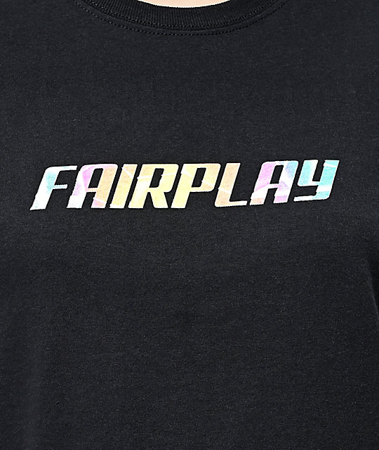 Fairplay Definition Black T-Shirt