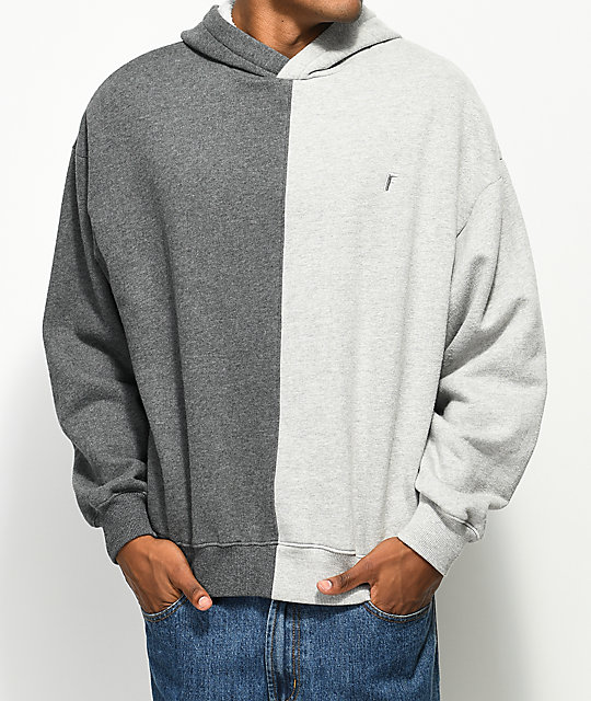 Fairplay Joon Split Grey Hoodie