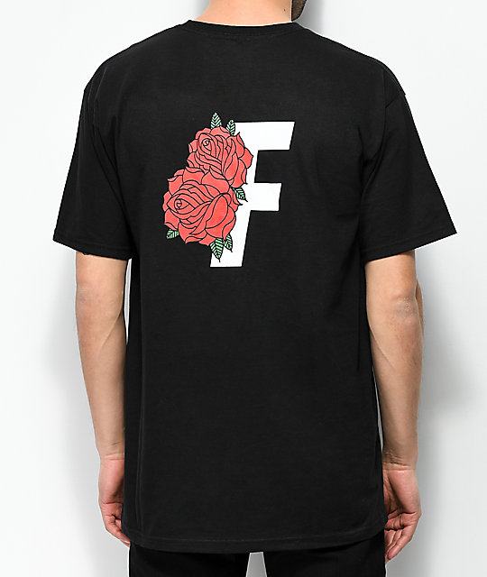 Fairplay Roses camiseta negra