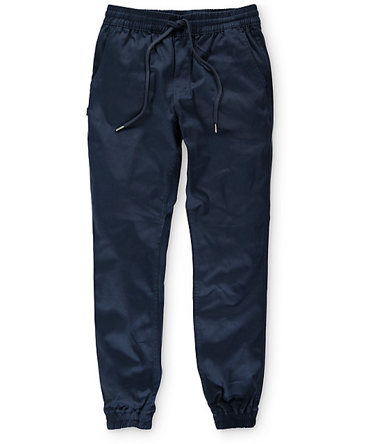 Fairplay Runner Navy Jogger Pants