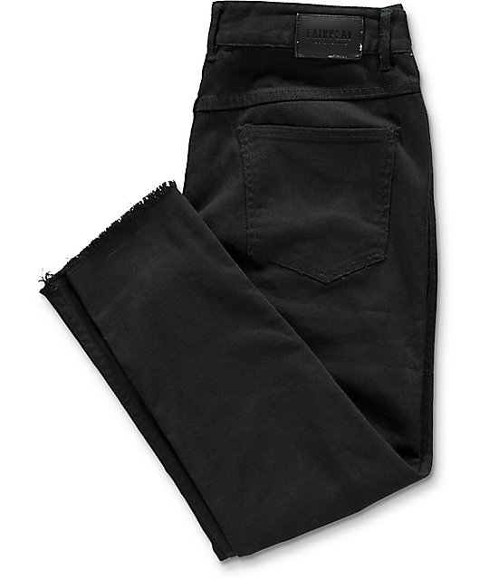 Fairplay Stellan jeans negros rotos