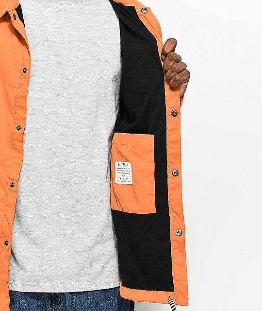 Fairplay Tauro Orange Coaches Jacket