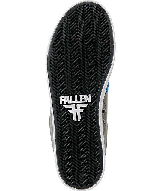 Fallen Rambler Colbalt Blue & Grey Skate Shoes