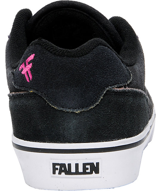 Fallen Shoes Slash Black & Rainbow Skate Shoes