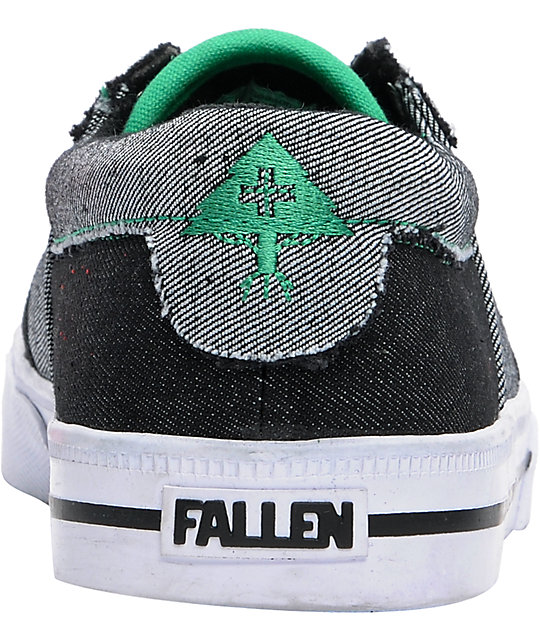 Fallen Shoes x LRG Coronado Denim Skate Shoes