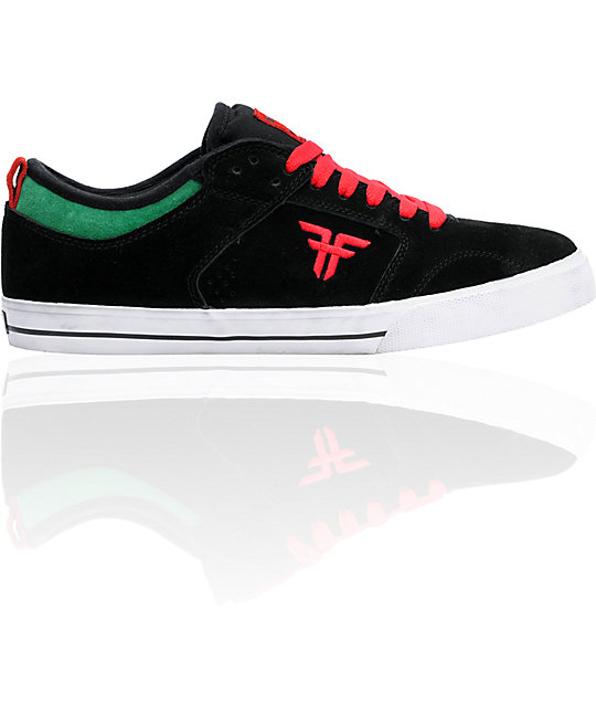 Fallen Skateistan Clipper Suede Skate Shoes