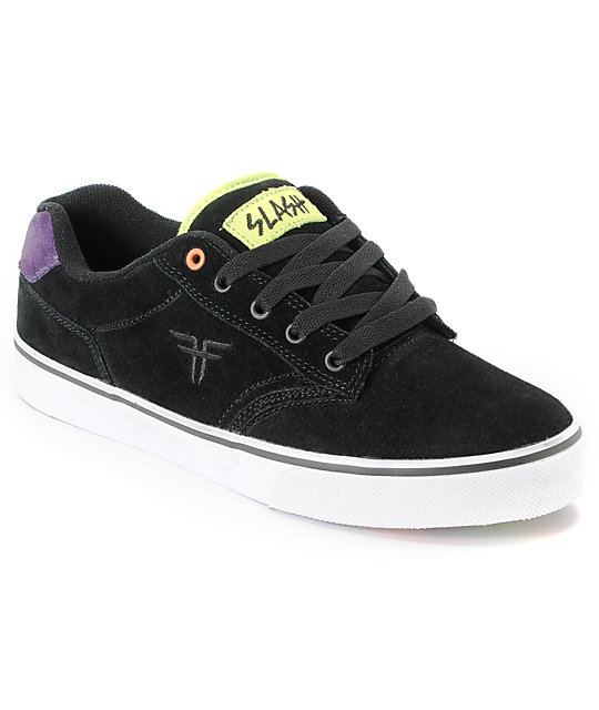Fallen Slash Black & Taffy II Skate Shoes