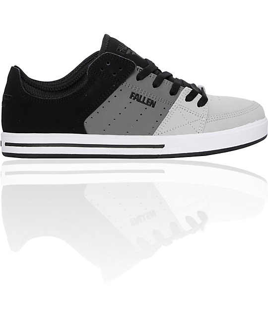 Fallen Trooper SL Black & Grey Shoes