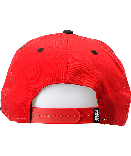 Famous Stars & Straps Always Family Red New Era Snapback Hat