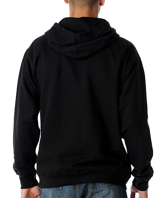Famous Stars & Straps BOH Black & Red Pullover Hoodie