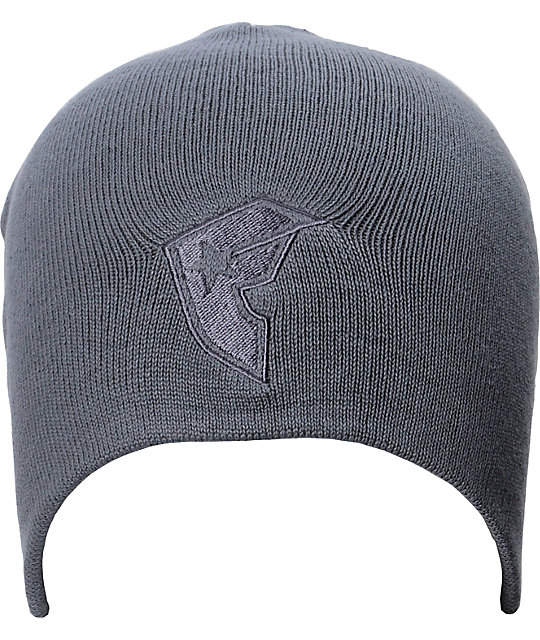 Famous Stars & Straps BOH Grey Beanie