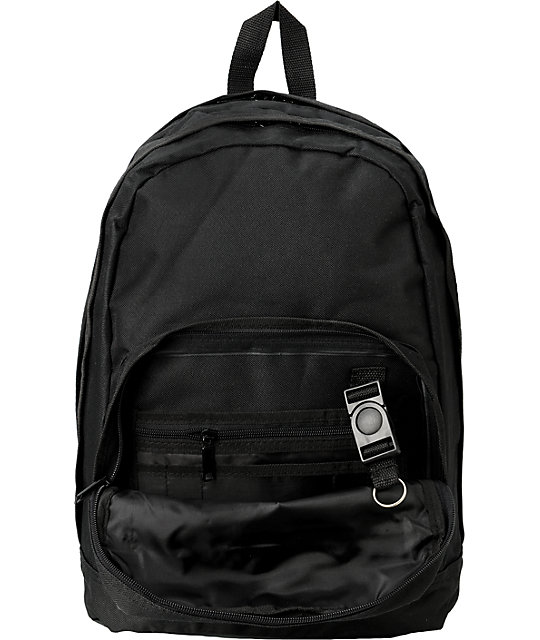 Famous Stars & Straps Badge Black Backpack