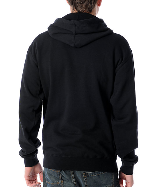Famous Stars & Straps Buffalo Check Black Hoodie