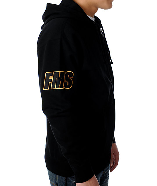 Famous Stars & Straps Jukebox Black Hoodie