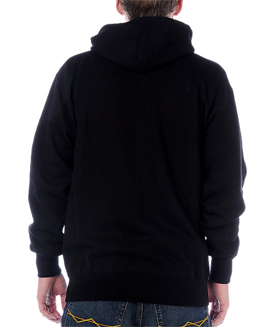 Famous Stars & Straps Midnight Black Hoodie