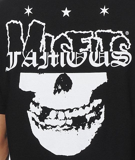 famous stars straps x misfits 78 t shirt zumiez