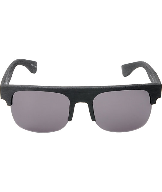 Filtrate Broadway RAW Black Grain & Grey Sunglasses