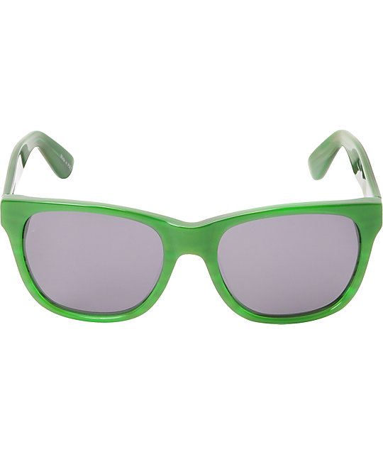 Filtrate Cellar Door Gloss Marble Green & Grey Sunglasses