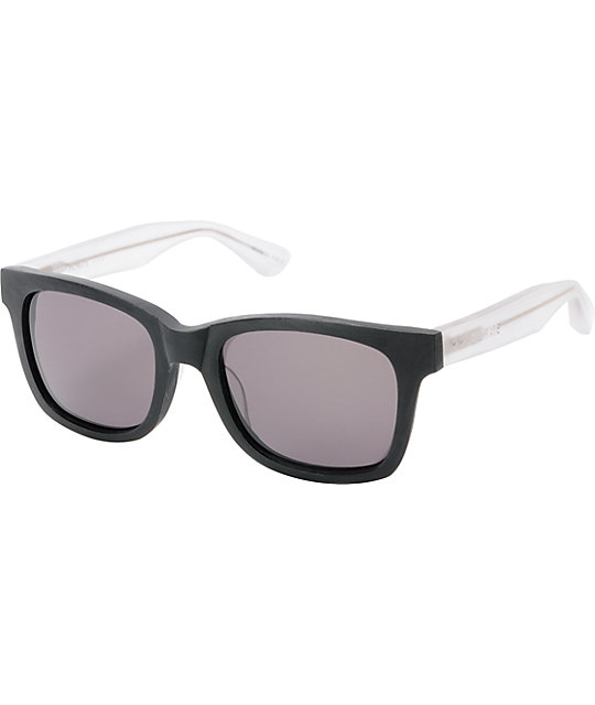 Filtrate Oxford Black Clear & Grey Sunglasses