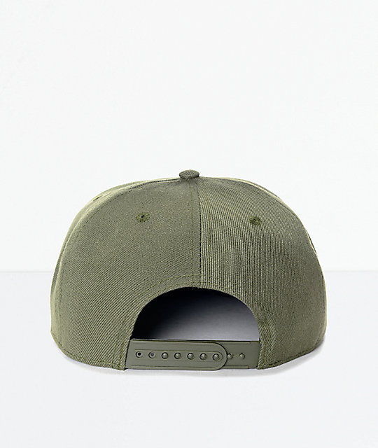 Findlay Crown Point gorra snapback en verde olivo