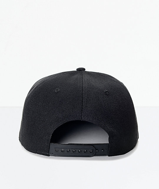 Findlay Lockport Black Snapback Hat | Zumiez