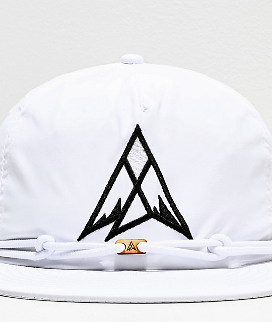 Findlay Moonbow White & Black Snapback Hat