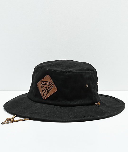 Findlay The Butcher II Black Bucket Hat
