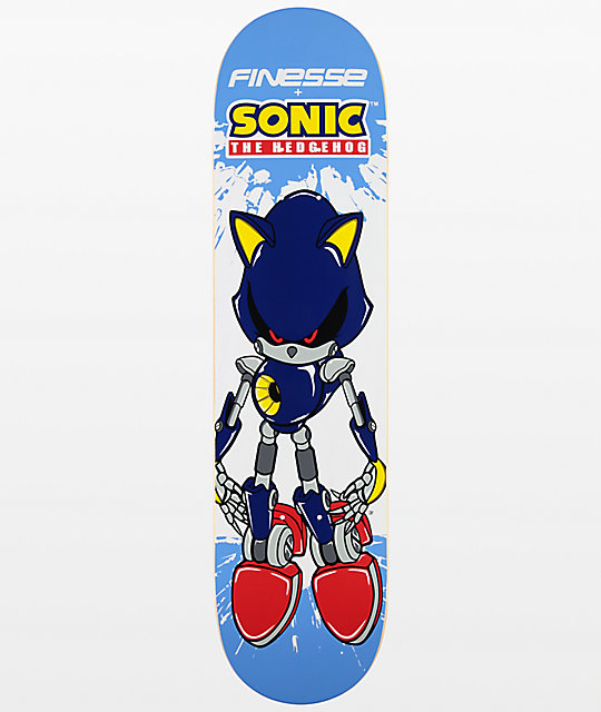 "Finesse Metal Sonic 7.75"" Skateboard Deck"