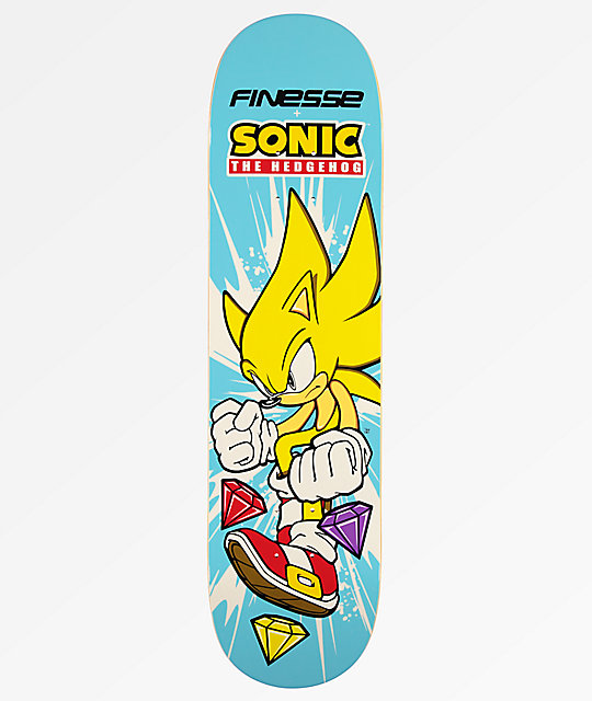 "Finesse Super Sonic 8.0"" Skateboard Deck"