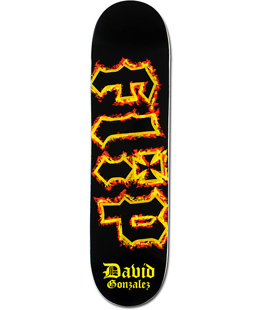 "Flip David Gonzalez Inferno 8""  Skateboard Deck"